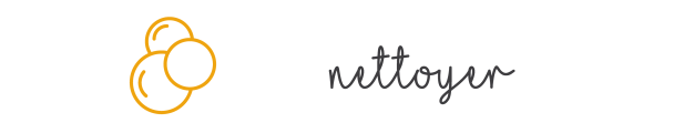 Nettoyer + Texte